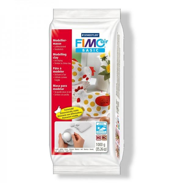 Глина 1 кг. бяла - Fimo Air Basic 8101