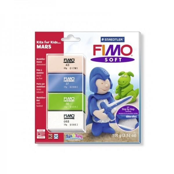 """Fimo Soft - Комплект глина за деца """"Рицар"""""""