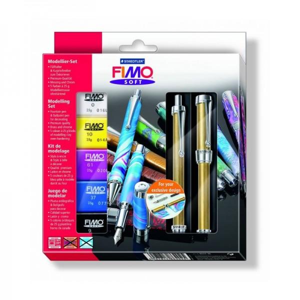 Fimo аксесоари - Комплект писалка и химикалка за декориране