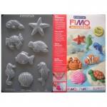 """Fimo аксесоари - Глинени формички, мотиви """"Морски създания"""""""