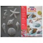 "Fimo аксесоари - Глинени формички, мотиви ""Миди"""