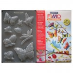 "Fimo аксесоари - Глинени формички, мотиви ""Пеперуди"""
