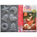 """Fimo аксесоари - Глинени формички, мотиви """"Коледна декорация"""""""