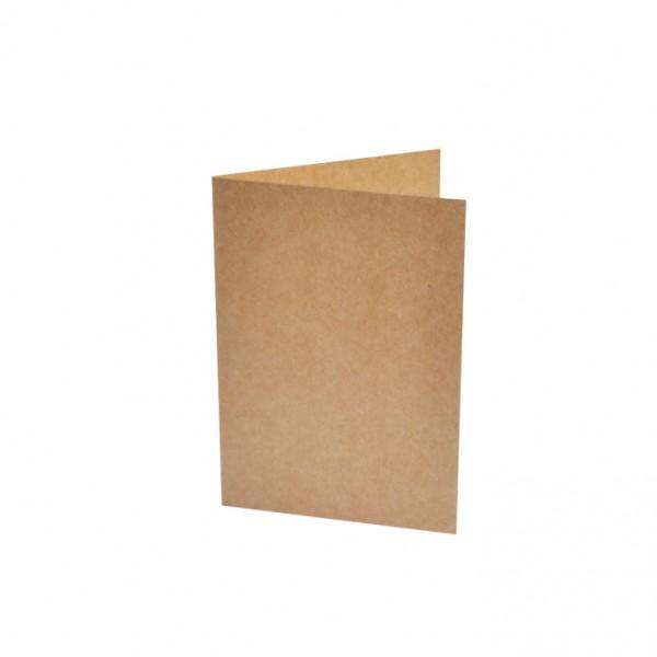 Слънчоглед картонче за картичка А6 КРАФТ картон, 25бр