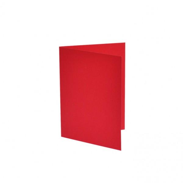 Слънчоглед картонче за картичка А6 plike red, 25бр