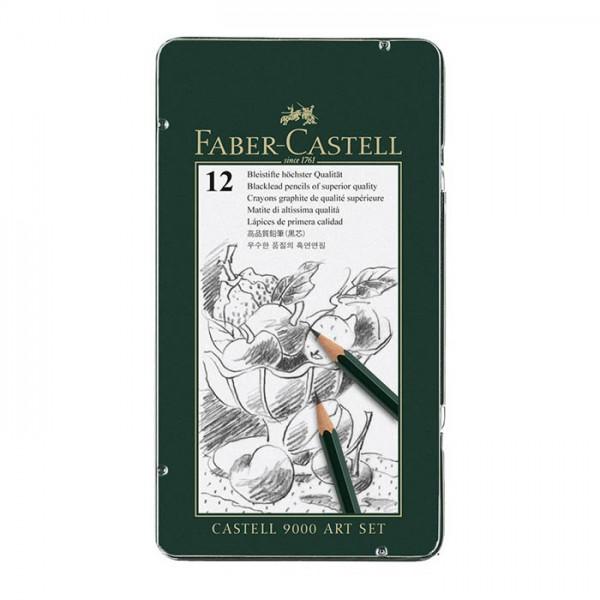 Графитен молив CASTELL 9000 Art Set - Faber Castell
