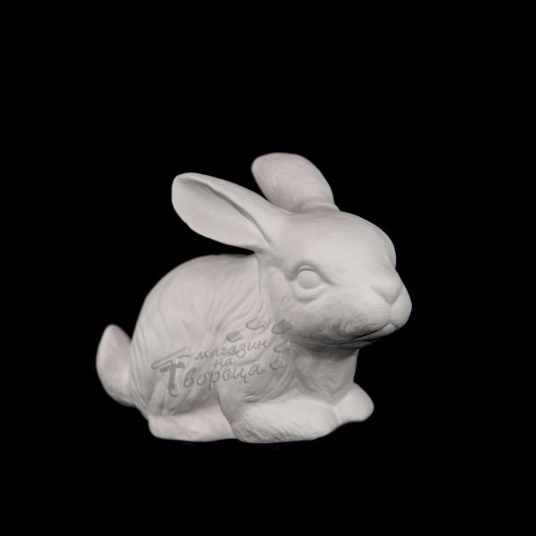 Керамична фигура - Див заек на четири крака