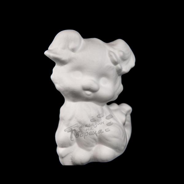Керамична фигура - Коте кокона