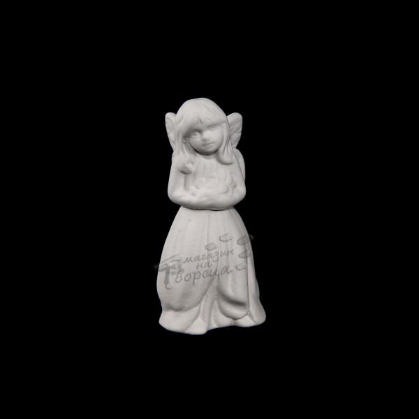 Керамична фигура - Мини елфа - права