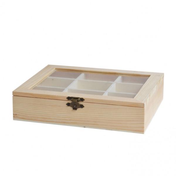 Chenfei 1076 кутия 9 разделения 21*18*5 cm