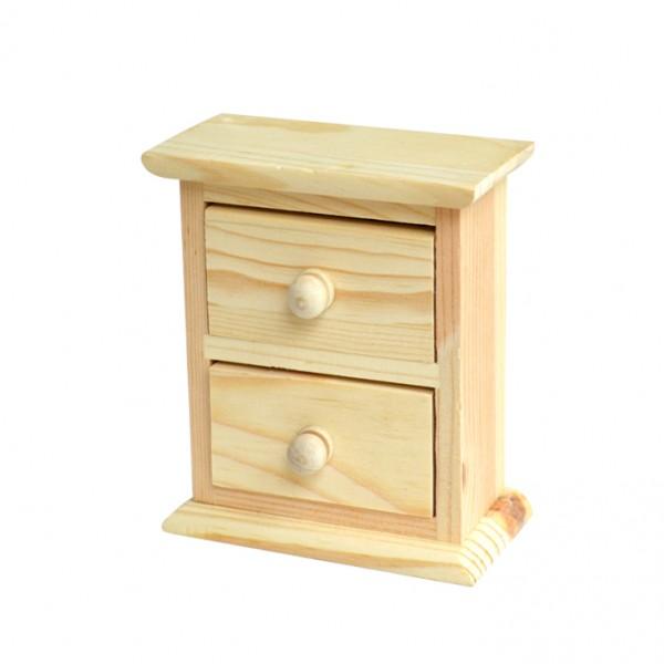 Chenfei 1083 шкафче 2 чекмеджета mini 10*12*5 cm