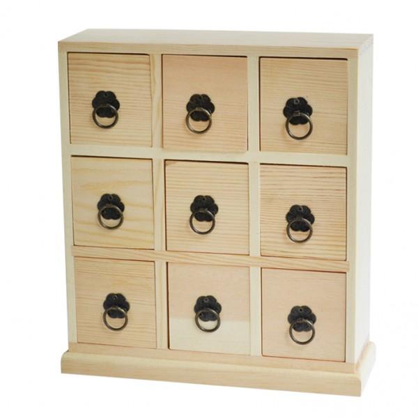 Chenfei 1089 шкафче 9 чемеджета 22*24*7.5 cm
