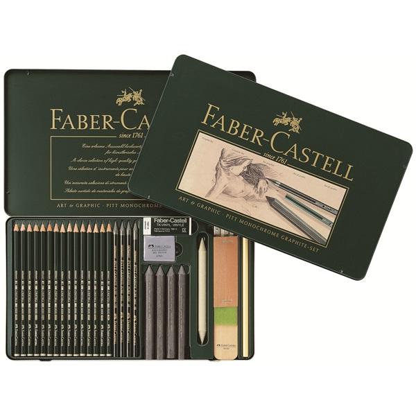 Графичен комплект Art & Graphic PITT 29 части - Faber Castell
