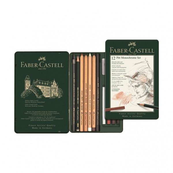 Monochrome комплект 12 части - Faber Castell