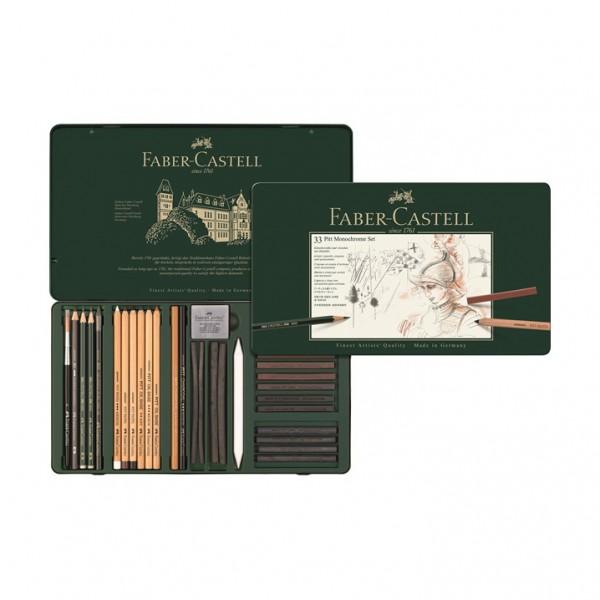 Monochrome комплект 33 части - Faber Castell