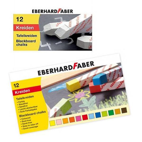 Тебешир-бял, цветен - Eberhard Faber