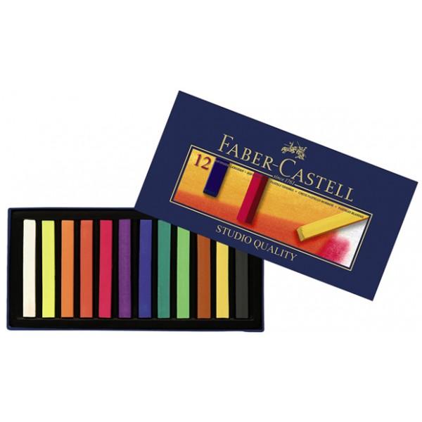 Сухи пастели Faber-Castell 12цв.