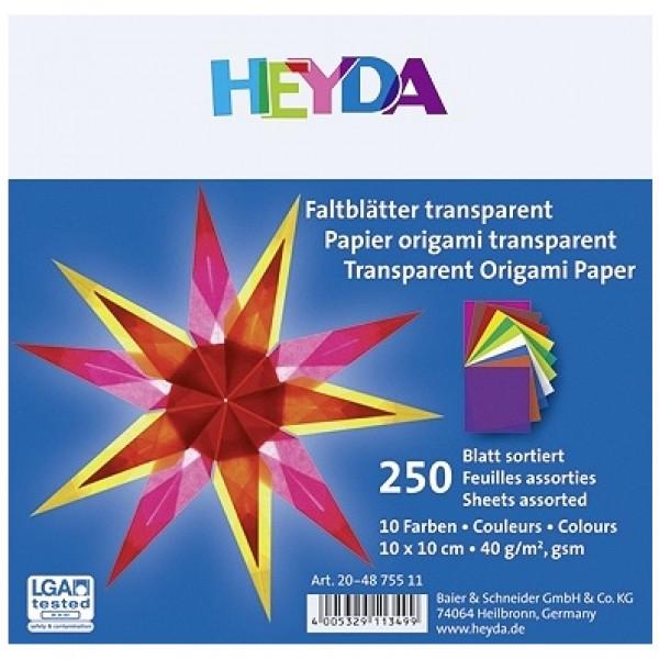 Heyda паус Origami 10*10 cm, 250 л