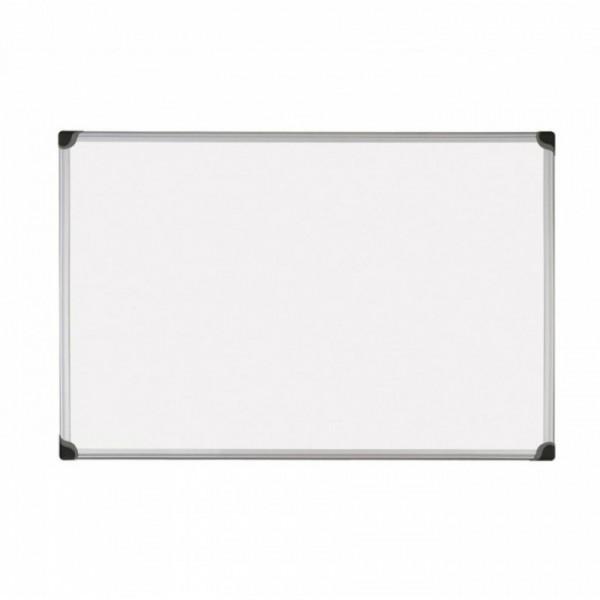 Бяла дъска с алуминиева рамка магнитна - 90x120см