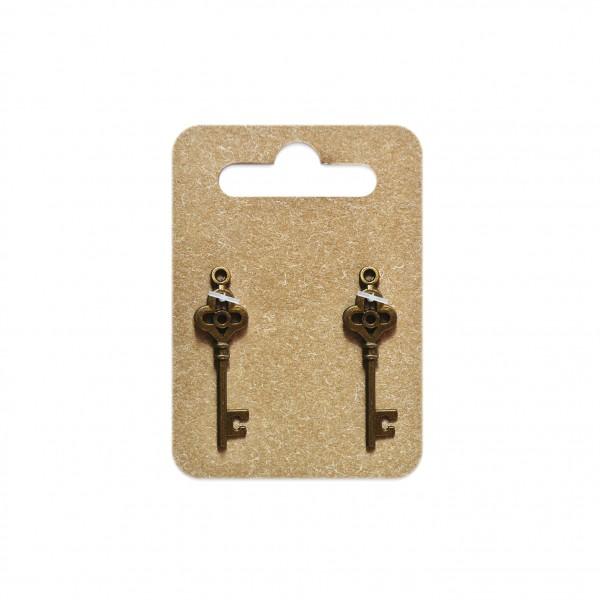 Be pretty висулка 7163 ключ кафяв 34 mm, 2 бр.