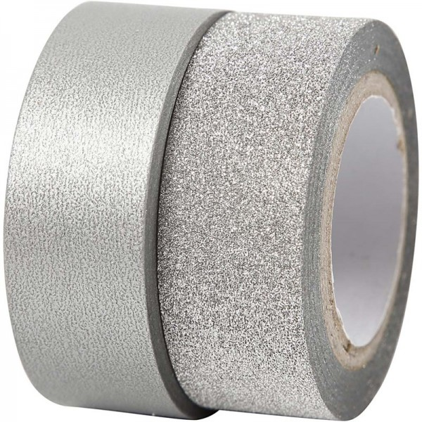 Creativ washi лента 15 mm 7+10 m, pack 2 бр 25221