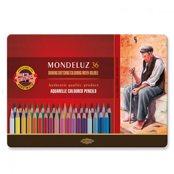 KOH-I-NOOR - Акварелни моливи Mondeluz 36 цв