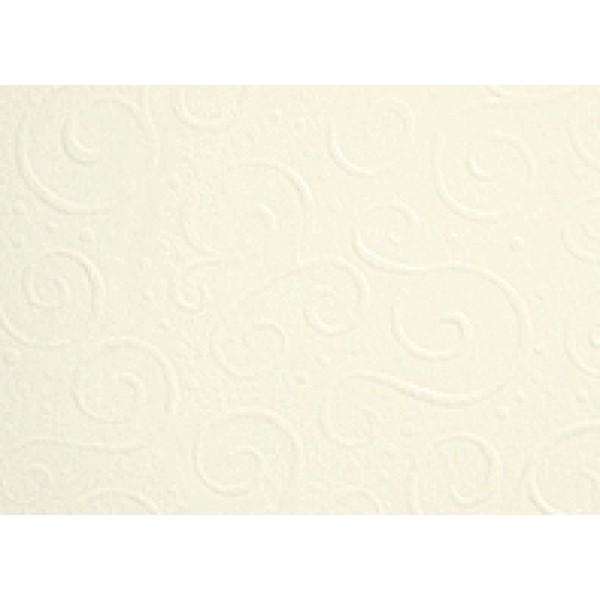 Heyda картон с релеф Embossed А4 220g, 5 листа - Milano 20-шампанско