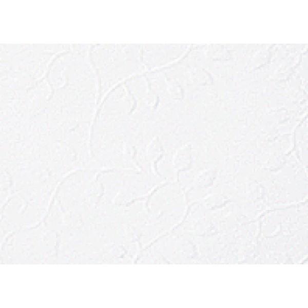 Heyda картон с релеф Embossed А4 220g, 5 листа - Firenze 35-бял