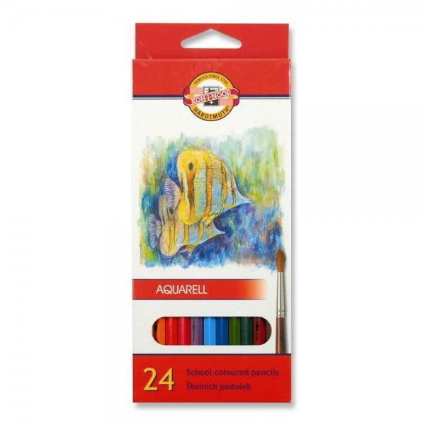 KOH-I-NOOR - Акварелни моливи 24 цв