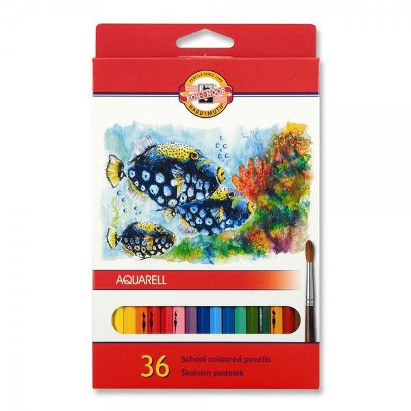 KOH-I-NOOR - Акварелни моливи 36 цв
