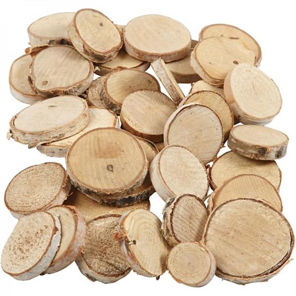 Creativ wood шайби 25-45 mm, пакет микс, 600g