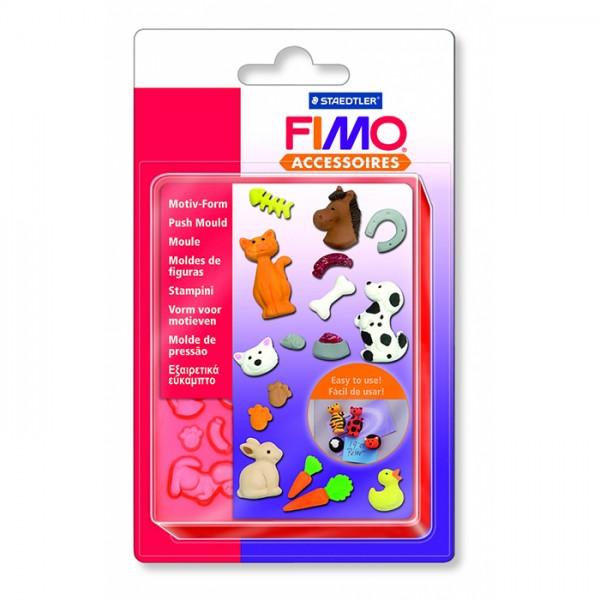 FIMO шаблон Pets
