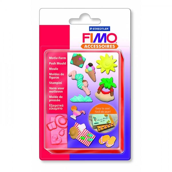 FIMO шаблон Holiday