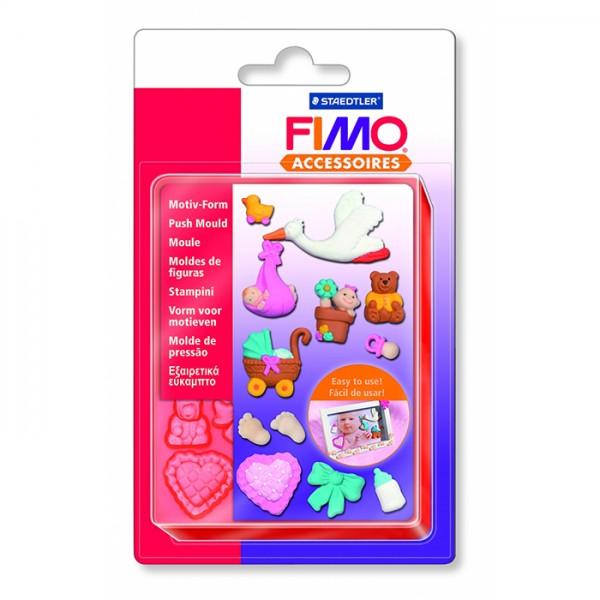 FIMO шаблон Baby