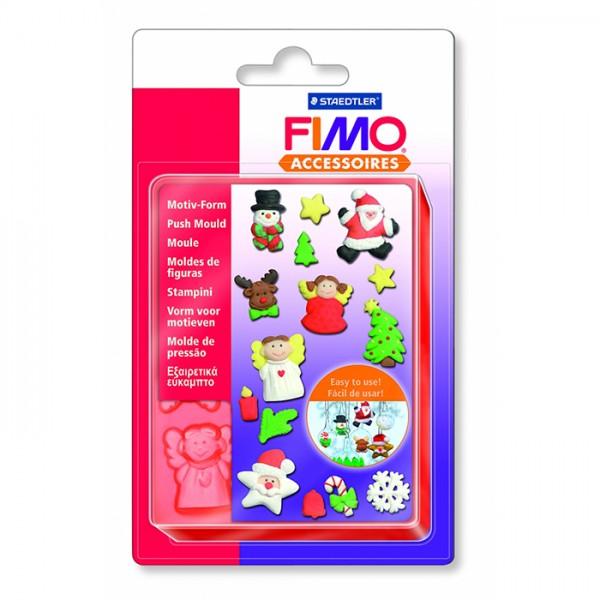 FIMO шаблон Christmas