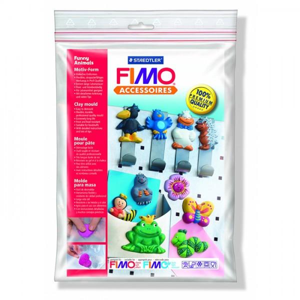 """Fimo аксесоари - Глинени формички, мотиви """"Забавни животни"""""""