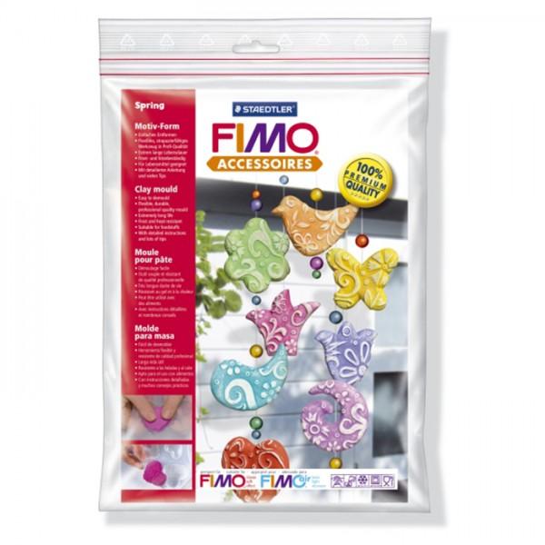 """Fimo аксесоари - Глинени формички, мотиви """"Пролет"""""""