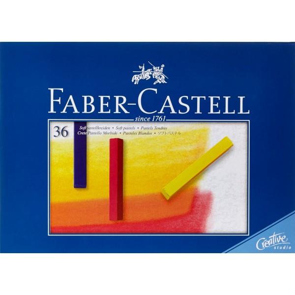 Сухи пастели Faber-Castell 36цв.