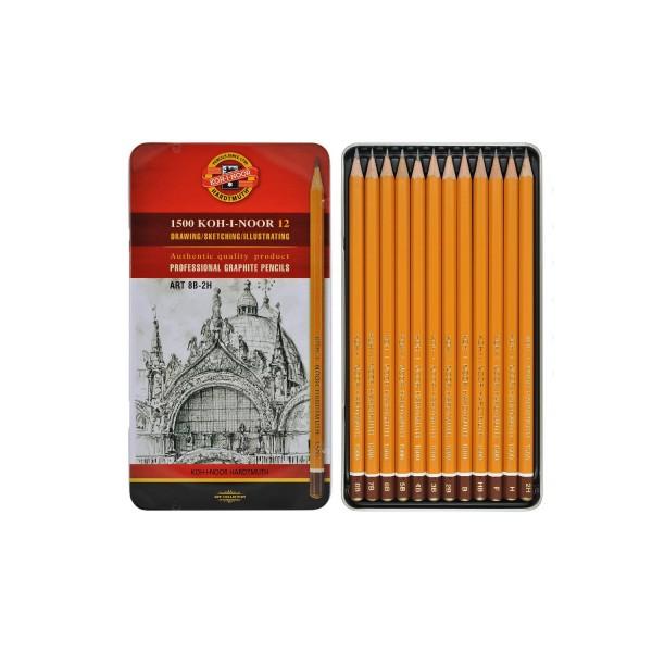KOH-I-NOOR графитен молив, АРТ комплект 12бр