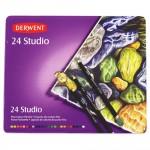 Derwent цветни моливи Studio комплект 24 цв