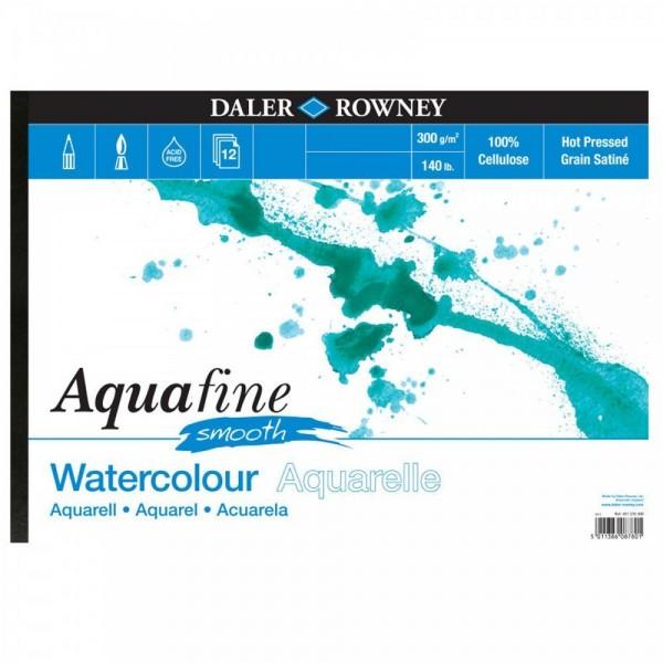 Daler Rowney скицник Aquafine A4, 300 g, 12 л SMOOTH