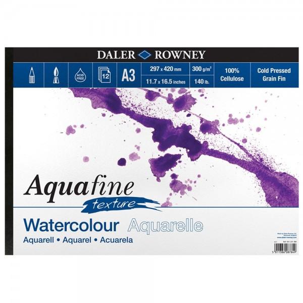 Daler Rowney скицник Aquafine A4, 300 g, 12 л TEXTURE