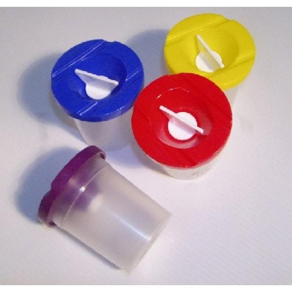 Colour it чашка за вода неразливаща с капаче