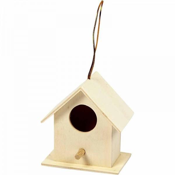 Creativ wood къщичка за птици 6*6 cm, 1 бр