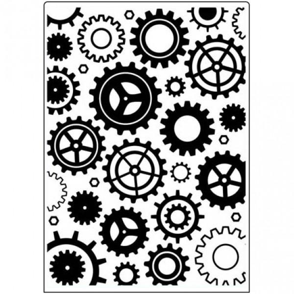 Папка за релеф - 12,7x17,8 сm. - Geared