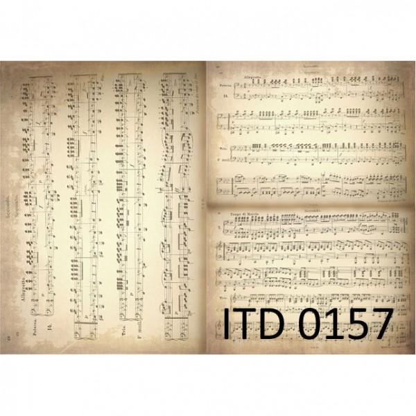 Хартия за декупаж - A3 Classic 60gr - ITD Collection D0157