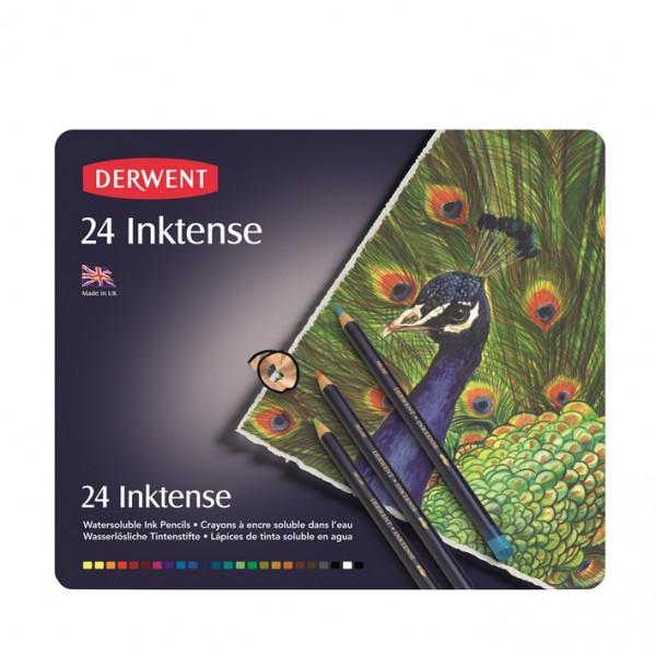 Derwent комплект моливи Инктенз 24 цвята