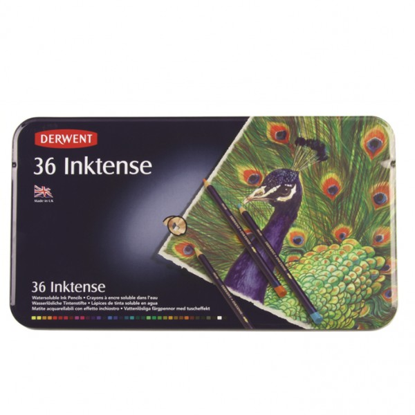 Derwent комплект моливи Инктенз 36 цвята