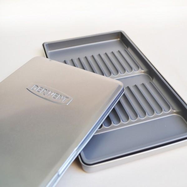 Derwent празна метална кутия за 12 молива