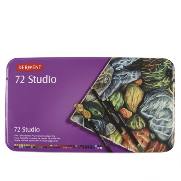 Derwent цветни моливи Studio комплект 72 цв